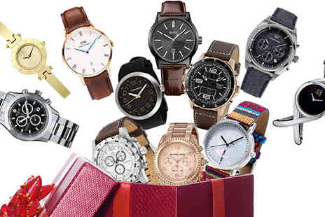 Brand Logic Europe - Mystery Watch for Him or Her from Calvin Klein, Michael Kors, Hugo Boss and More - Save 0%