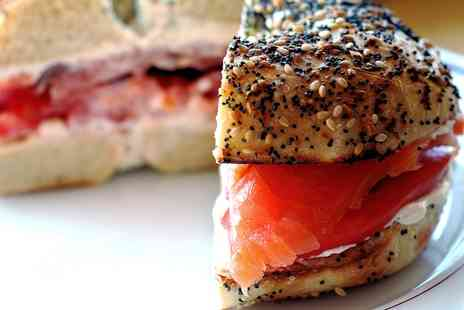 The Bagel Stop - Choice of Two or Four Bagels - Save 37%