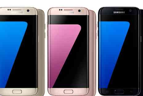 Mobile Phones Direct - Contract Unlimited Mins and Texts 4GB 4G Data & Samsung Galaxy S7 Edge 32GB With Free Delivery - Save 0%