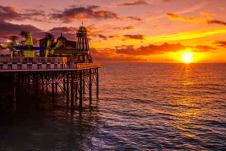 The Old Ship Hotel - One or Two Night Brighton stay for two with a bottle of wine, three course dinner, breakfast and late check out - Save 49%