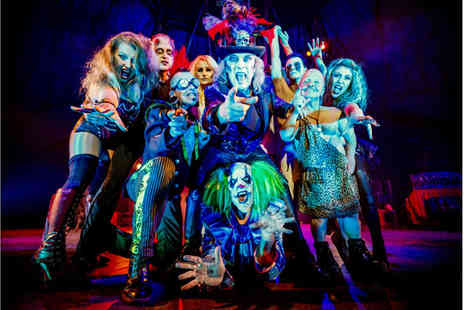 The Circus of Horrors - Ticket to Circus of Horrors, The Never Ending Nightmare on Sunday 23rd October 2016 - Save 47%