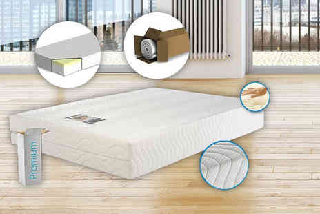 My Mattress Online - Single, small double or double or king size quilted eco reflex memory foam mattress - Save 80%