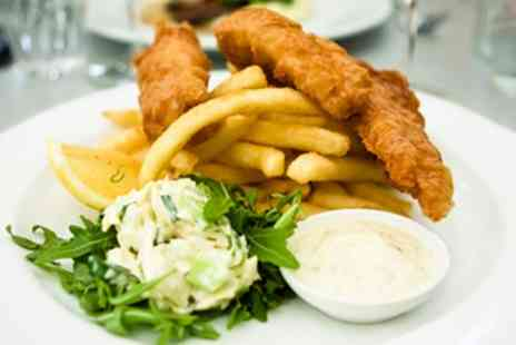 Waterfront Brasserie - Fish and Chips For Two - Save 65%