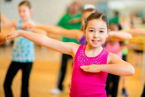 Fitjoy - Five or Ten Zumba or Street Dance Classes for One Child - Save 0%