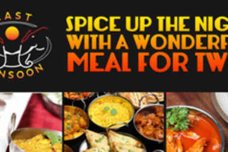 Last Monsoon - Spice up your life with an exotic meal for two - Save 64%