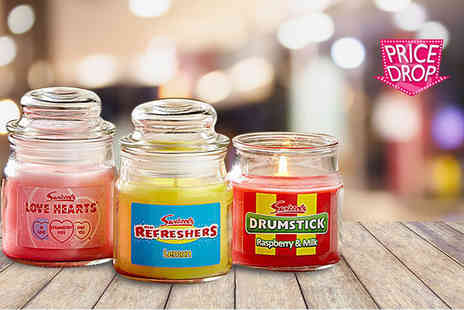 Ultimate Gift Packs - Vintage candy Swizzels three Candle gift sets - Save 63%