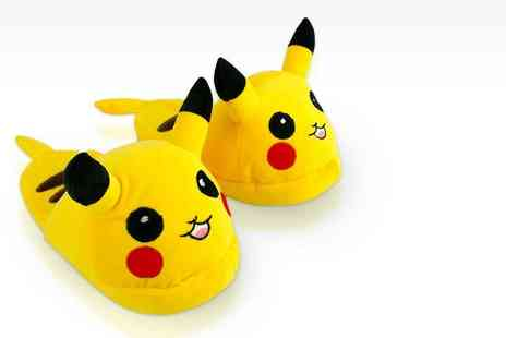 SEASON FOOTWEAR - Pair of Pokemon inspired slippers - Save 67%