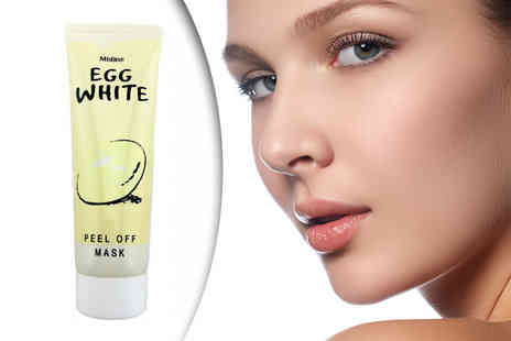 Forever Cosmetics - 85g tube of egg white peel off face mask - Save 75%