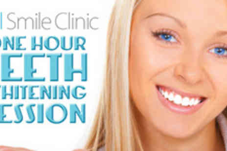 Vital Smile Clinic - One hour teeth whitening treatment - Save 83%