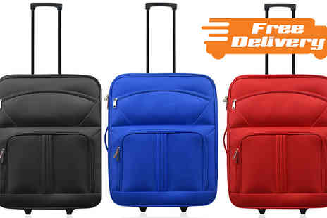 Travel-EZ - Cabin Approved Wheeled Suitcase With Free Delivery - Save 0%