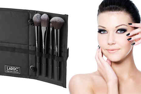 Jazooli - LaRoc Four Piece Make Up Brush Set - Save 0%