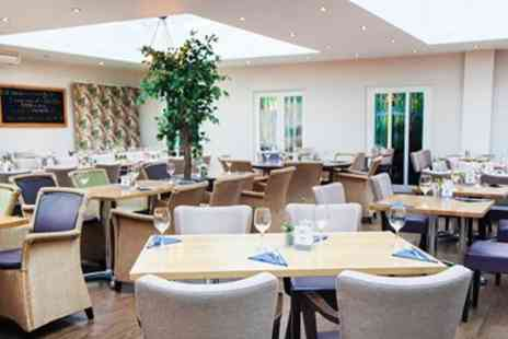 Hawkwell House Hotel - Excellent 3 Course Dinner with Wine for 2 - Save 0%