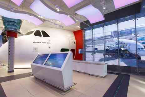 Aviation Experience - Entrance Ticket and 30 Minute Flight Simulation - Save 43%