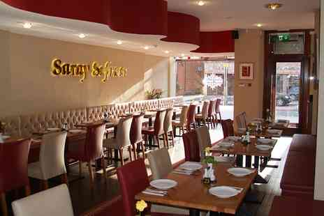 Saray Sofrasi Restaurant - 8 or 16 Meze for Two or Four - Save 47%