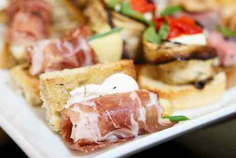 Mercado - Spanish Tapas with Olives, Bread and Wine or Sangria - Save 66%
