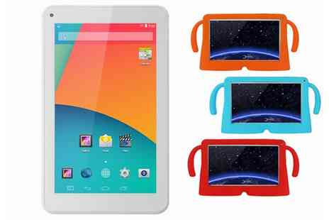 Groupon Goods Global GmbH - 9 Inch Quadcore Android 4.4 Kids Tablet with Child Friendly Case With Free Delivery - Save 0%
