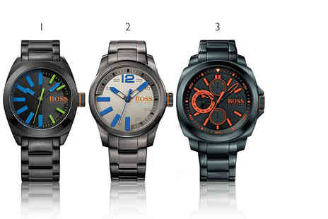 Class Watches - Hugo Boss mens watch choose from five designs Plus included delivery - Save 27%