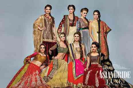 Asian Bride Luxe - One ticket  to the Asian Bride Luxe show on 18th Sep 2016 - Save 50%