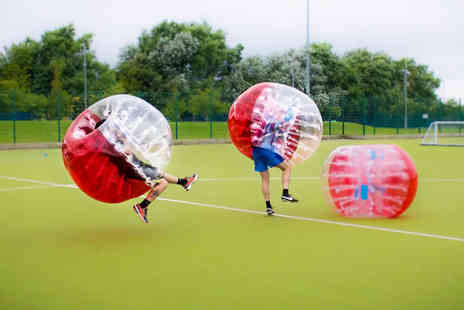 Spartacus Bubble Soccer - One hour bubble football experience 10 or 20 people - Save 52%