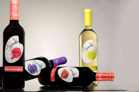 Gourmentum - Selection of 12 bottles of Aquarella wine and a sommelier decanter - Save 54%