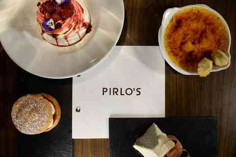 Pirlo's Dessert Lounge - Afternoon Tea for Two, Four or Six - Save 36%