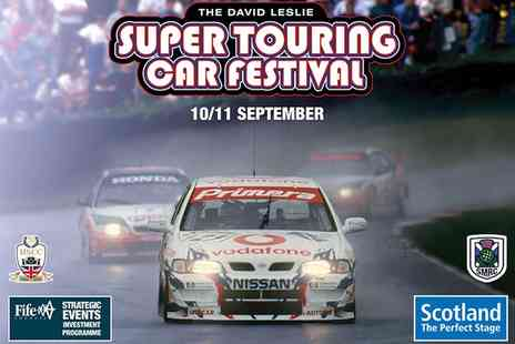 Knockhill Racing Circuit - Super Touring Car Festival on 10 To 11 September - Save 48%