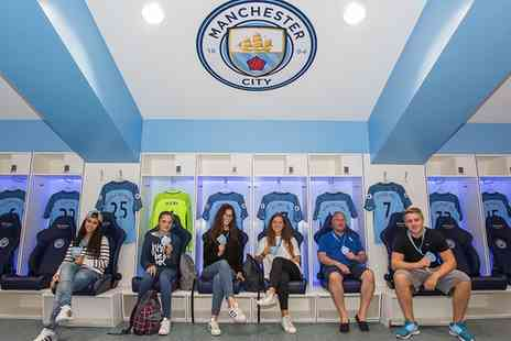 Manchester City Football Club - Manchester City FC Stadium and Club Tour with Souvenir Photo - Save 33%