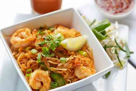 The Orchid Thai Cuisine - Four Course Thai Meal for Two with Wine or Thai Beer - Save 56%