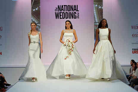 The National Wedding Show - Ticket to The National Wedding Show choose from 30th September, 1st or 2nd October 2016 - Save 54%