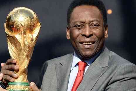FSG Promotions - Silver ticket to An Evening With Pele - Save 39%