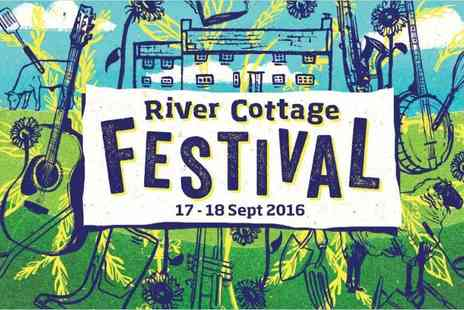 River Cottage - Adult ticket to the River Cottage Festival or adult and child ticket on Saturday 17th or Sunday 18th September - Save 50%