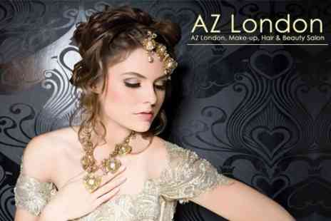 AZ London Academy - Three Hour Workshop With Professional Make Up Artist for £29 - Save 81%