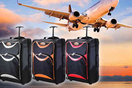 TLD Marketing - Humlin Wheelie Cabin Suitcase in 3 Colours - Save 0%