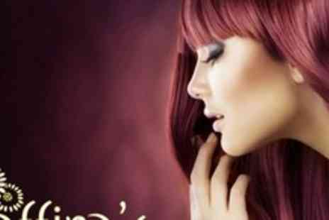 Saffinas Hair and Beauty Salon - Full Head of Colour or Half Head of Highlights With Cut, Blow Dry  and Conditioning - Save 69%