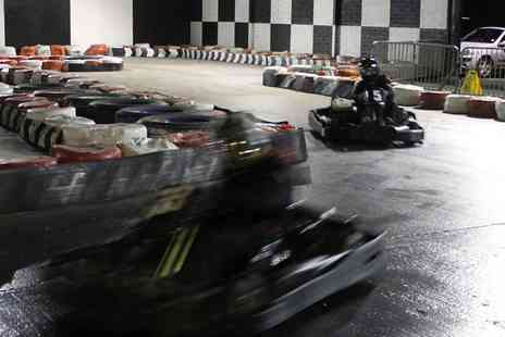 West Wales Karting - 20 Laps of Go Karting for Up to Six - Save 50%