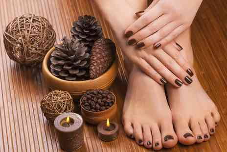 Naveya Beauty - Gel Manicure or Pedicure, or Both - Save 63%