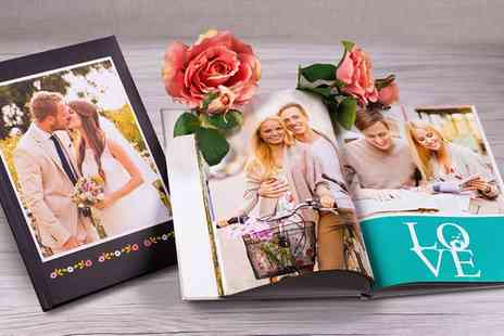 Ecolorland - Personalized A4 Soft Touch Cover Photo Book up to 100 Pages - Save 0%