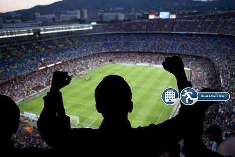 Mundo Tours - One night Spain city hotel stay with Champions League group stages football tickets for two - Save 0%