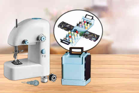 Meadow Vale - Portable sewing machine or sewing kit - Save 60%