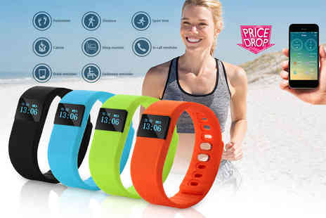 The Pretty Essential Company - TW64 smart Bluetooth fitness bracelet - Save 77%