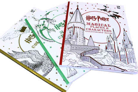 Bangzo - Harry Potter Colouring Books in 3 Designs - Save 0%