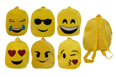 Wowcher Direct - Kids emoji backpack choose from six designs - Save 0%