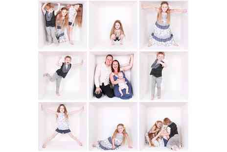Kiss Photography Studios - One Hour The Box Photoshoot with Three Prints - Save 47%