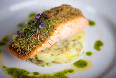Templeton Hotel - 10oz sirloin steak or salmon fillet meal for two - Save 47%