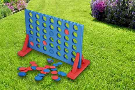 eStore London - Giant foam outdoor connect 4 - Save 66%