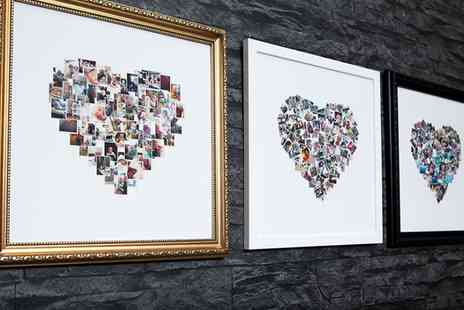 MeZoo - Personalised Collage Canvas Print In Choice of Size - Save 93%