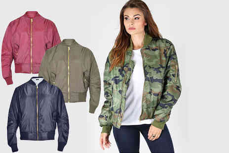 Bejealous - Zip up bomber jacket - Save 66%