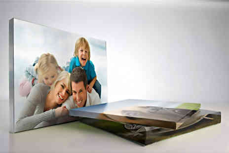 Picture Perfect Canvas Prints - Personalised A3 canvas print - Save 87%