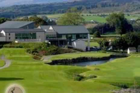 Castle Dargan Golf Hotel - In County Sligo One Night Stay For Two With Spa Passes and Breakfast - Save 62%