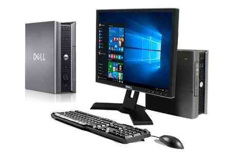 Titanium Computers - Refurbished Dell Optiplex USFF Core 2 Duo 2 Or 4GB Ram 80GB Or 1TB DVD Windows 10 64Bit With Free Delivery - Save 0%